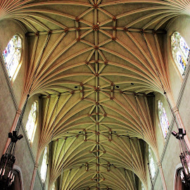 Gothic Revival Vault, Hamilton, Ontario by Carl VanderWouden - Buildings & Architecture Places of Worship