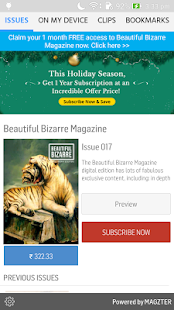 Beautiful Bizarre Magazine- screenshot thumbnail