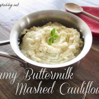 Creamy Buttermilk Cauliflower Mash