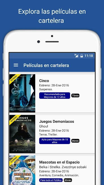 #2. Cine Colombia S.A. (Android)