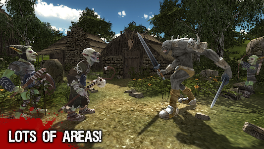 Troll Warrior Adventure 3D screenshot 3