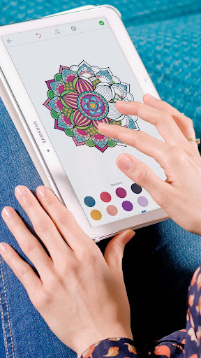 Mandala Coloring Pages ss1