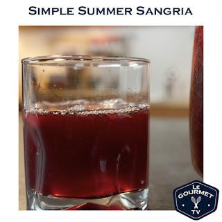Simple Summer Sangria.