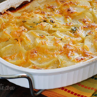 Skinny Scalloped Potato Gratin Recipe