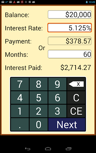 payoff calculator apk download apkpure co