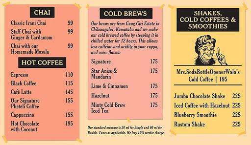 SodaBottleOpenerWala menu 1