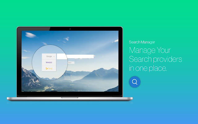 Search Manager chrome extension