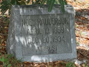 Photo: Noel Raulerson son of David Raulerson and Evaline Thomas / Husband of Mary Ann Altman