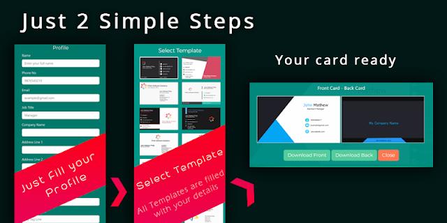 Download Free Visiting Card Designing App