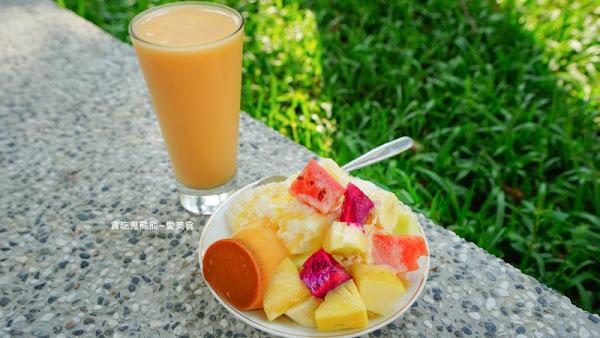 布丁水果牛奶冰,綜合果汁-媽媽說要吃水果 –宏美冰果店
