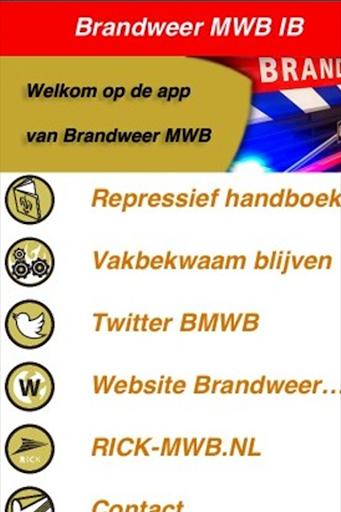 Brandweer MWB IB