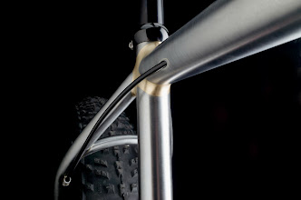 Photo: Fillet seat cluster and my smooth internal rear derailleur cable routing.
