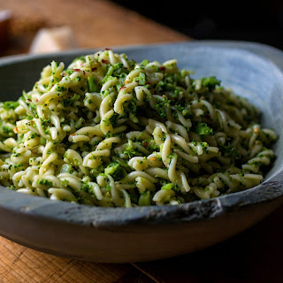 Fusilli With Broccoli and Anchovies