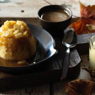 Toffee Apple Sponge Pudding.