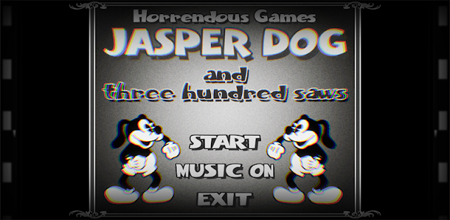 Disney Style: JASPER DOG and three hundred saws