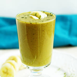 3 Ingredient Green Tea Matcha Smoothie.