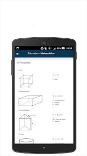 Fórmulas - Matemática - náhled