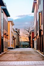 Photo: Sunset, Fones Alley