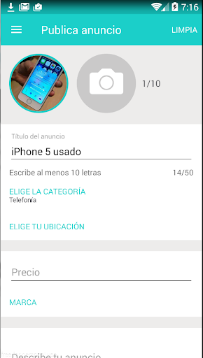 Segundamano.mx screenshot 4