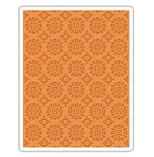 Tim Holtz Sizzix Texture Fades Embossing Folder - Rosettes