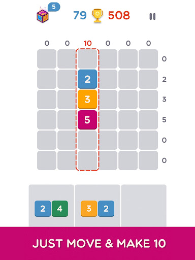 Make Ten - Connect the Numbers Puzzle