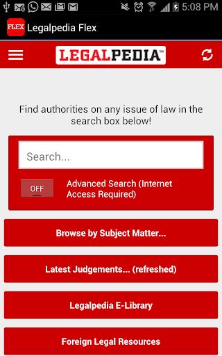 Legalpedia Flex