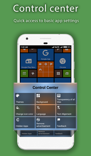 8.1 Metro Look Launcher 2018 - Theme, Smart, DIY 3.0 screenshots 5