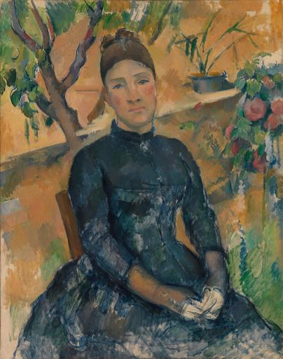 Madame Cézanne dans la serre
