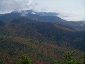 Photo: Chocorua with a cloud-shroded summit.