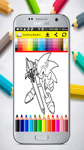 Coloring Book for Sonic 1.0 screenshots 5