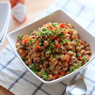 Slow Cooked Black-Eyed Peas