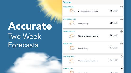 AccuWeather: Weather Forecast Updates & Radar Maps Screenshot