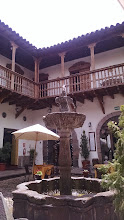 Photo: Hotel Marqueses lobby area