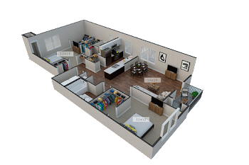 Go to The Furnished Maryland Floorplan page.