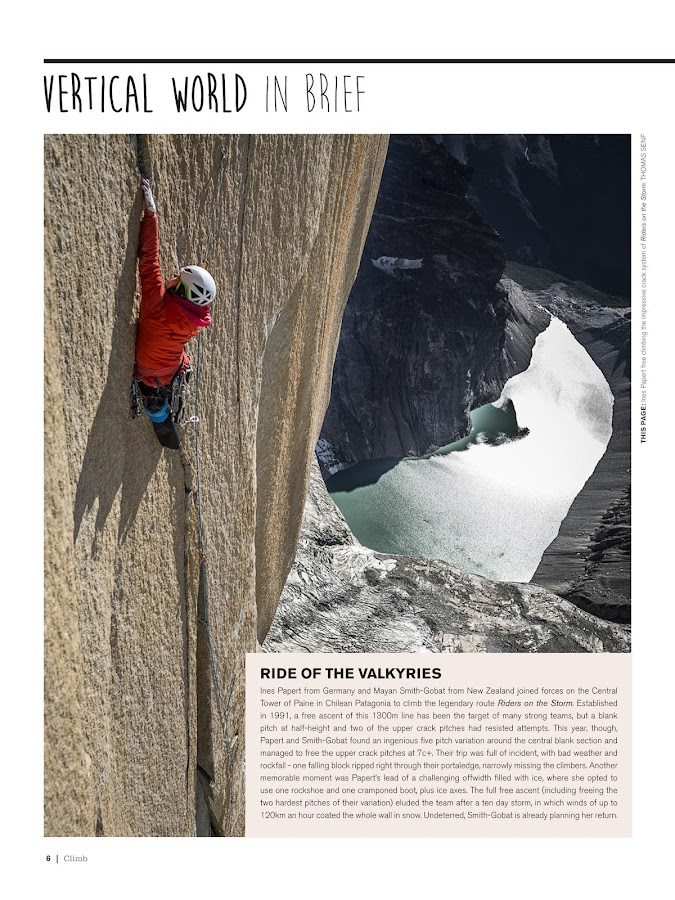 Climb Magazine- screenshot
