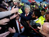 Arsène Wenger a rencontré le président du Paris Saint Germain Nasser Al-Khelaïfi