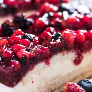 Mascarpone Cheesecake.