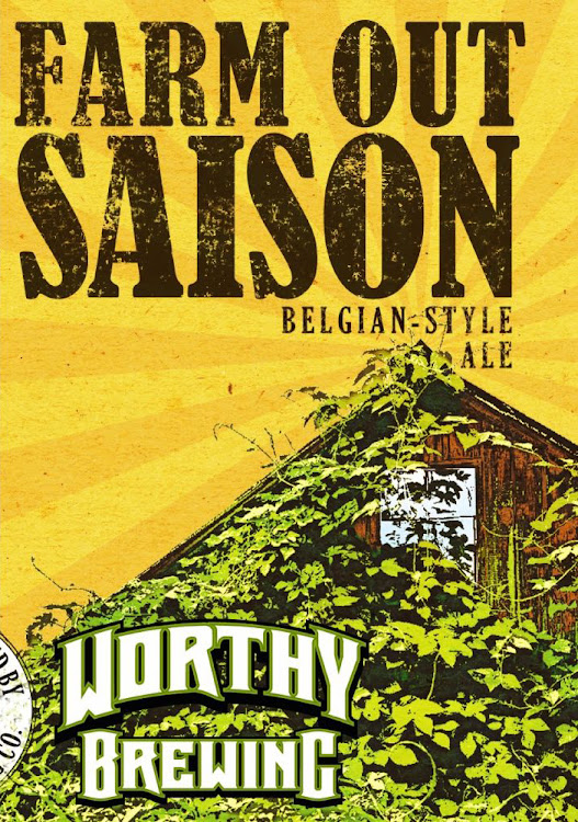 Logo of Worthy Farm Out Saison