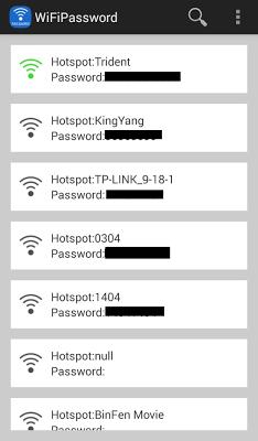 WiFi Password - screenshot