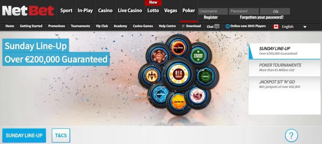 NetBet Poker лаунчер