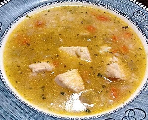Chicken & Rice Soup Recipe