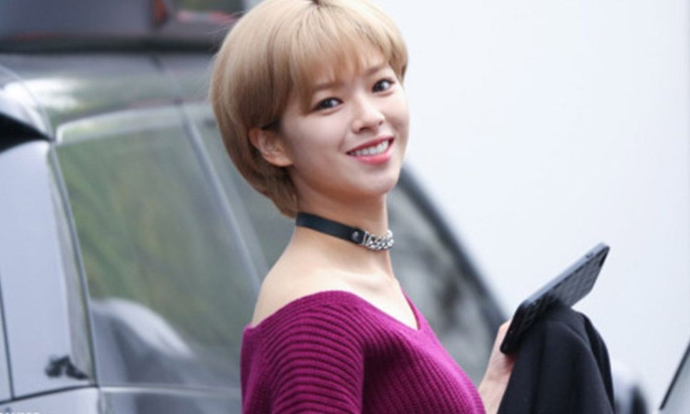 Twice Jungyeon Shows Off Her Sexy Charms With Latest Fall