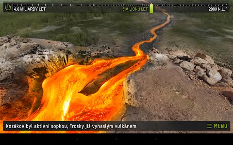 Kozákov - Czech Geology AR screenshot 1