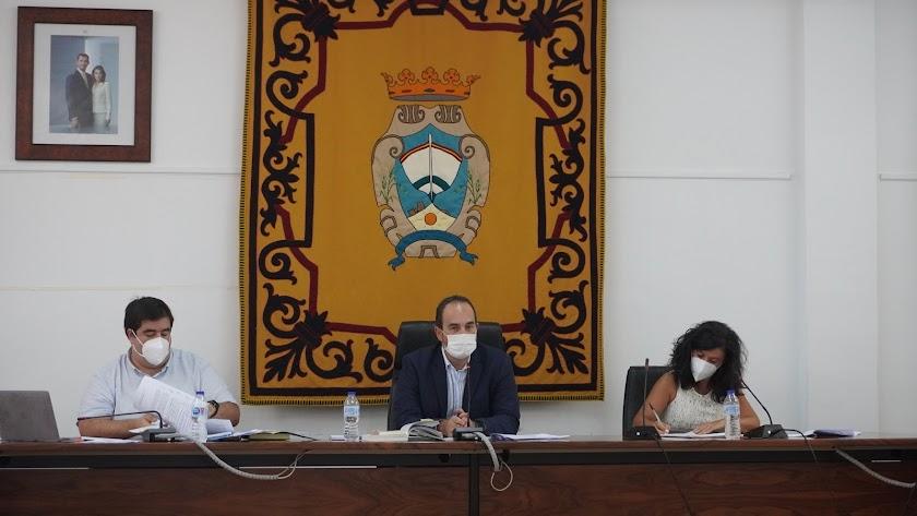 Fotografía del pleno del Ayuntamiento en el que se ha producido la aprobación de la medida.