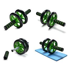 Roata fitness pentru abdomene: Ab Roller Wheel