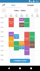 Student Calendar - Remember tasks ToDo & Timetable 1.5.9