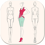 Fashion Design Flat Sketch - Fashion Designing App