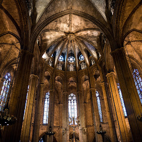 Barcelona Spain by Mike Hotovy - Buildings & Architecture Places of Worship (  )