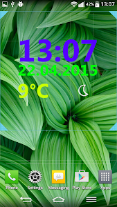 Weather Clock Widget screenshot 4