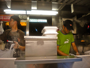 Photo: Sammy's Halal Food, Broadway and 73rd Street, Jackson Heights, 26 June 2012. (Photograph by Elyaqim Mosheh Adam.)